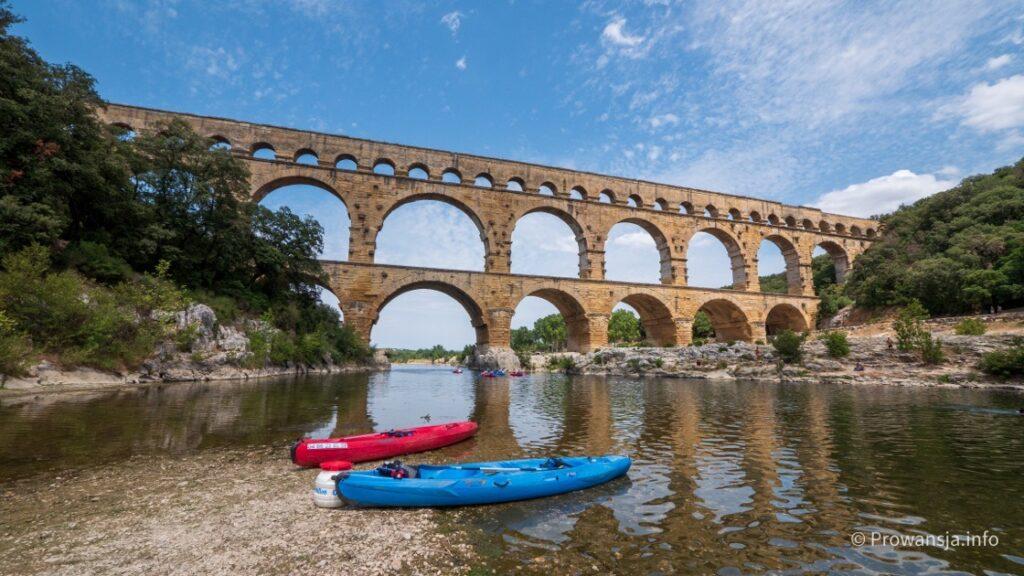 Pont du Gard, antyczne atrakcje Prowansji
