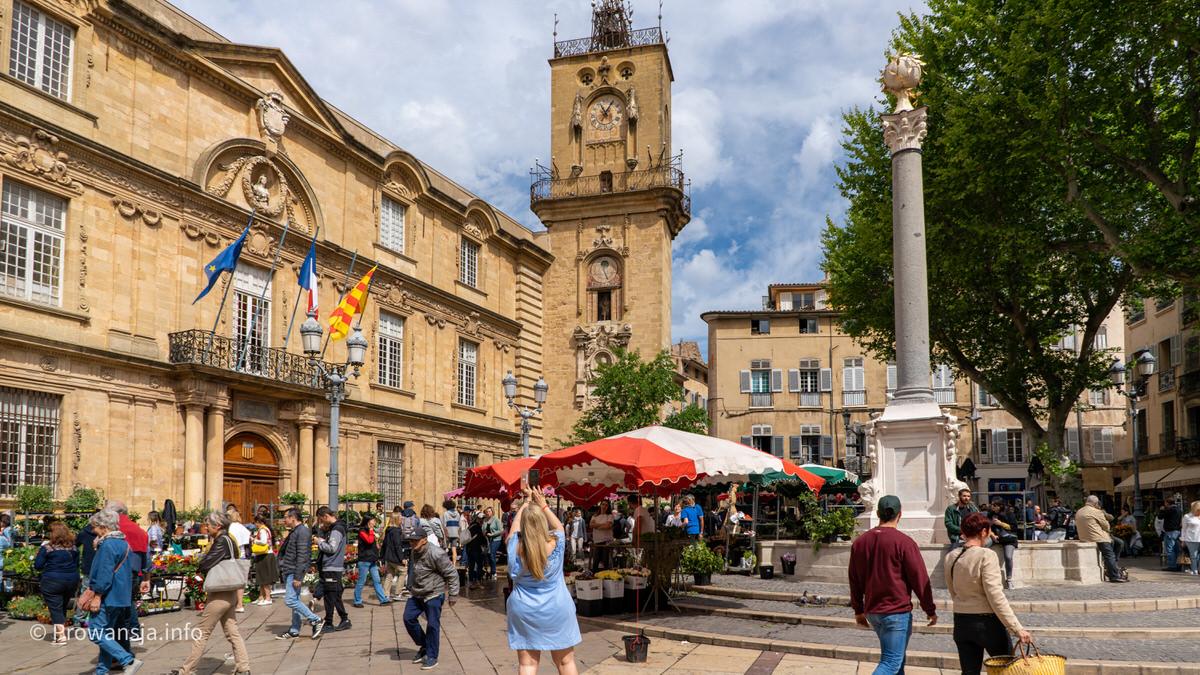 Ratusz w Aix-en-Provence