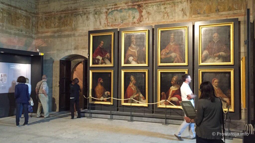 Wnętrze pałacu papieskiego