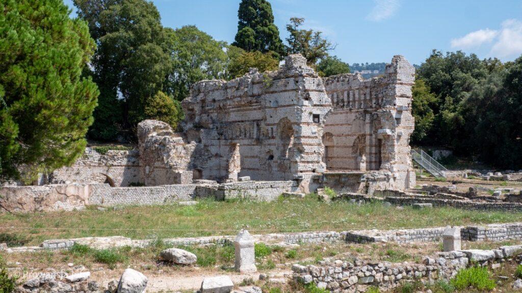 Antyczne ruiny w Cimiez