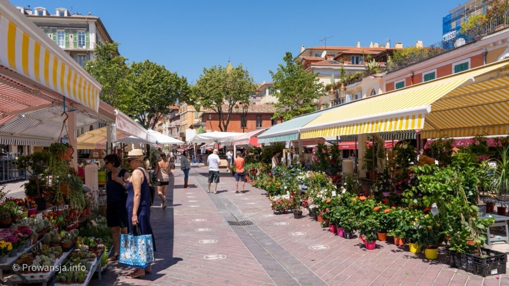 Targ prowansalski Cours Saleya
