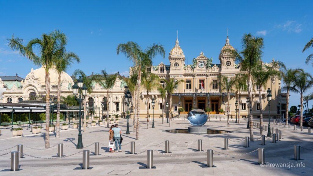 Kasyno Monte Carlo, plac po remoncie w 2020