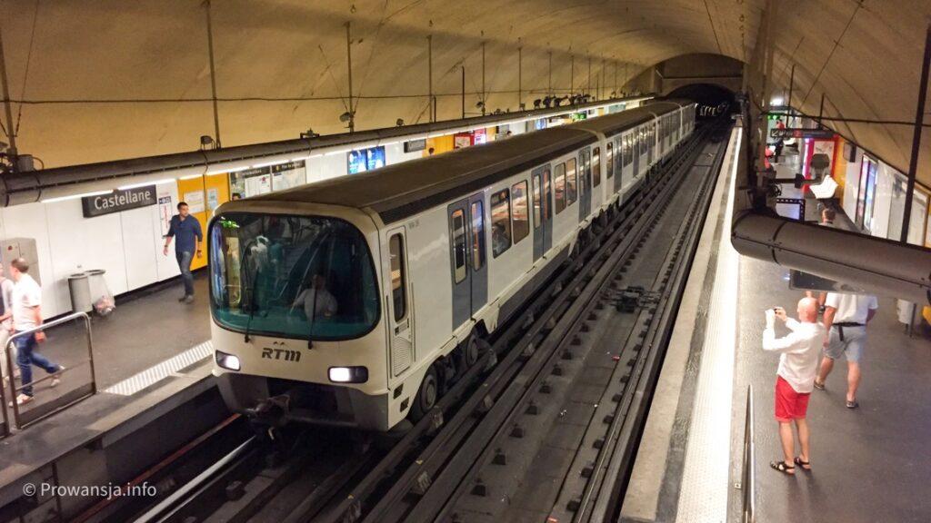 Metro w Marsylii