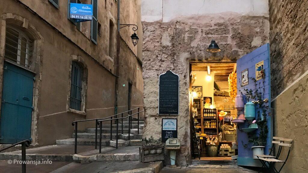 Stare Miasto w Marsylii