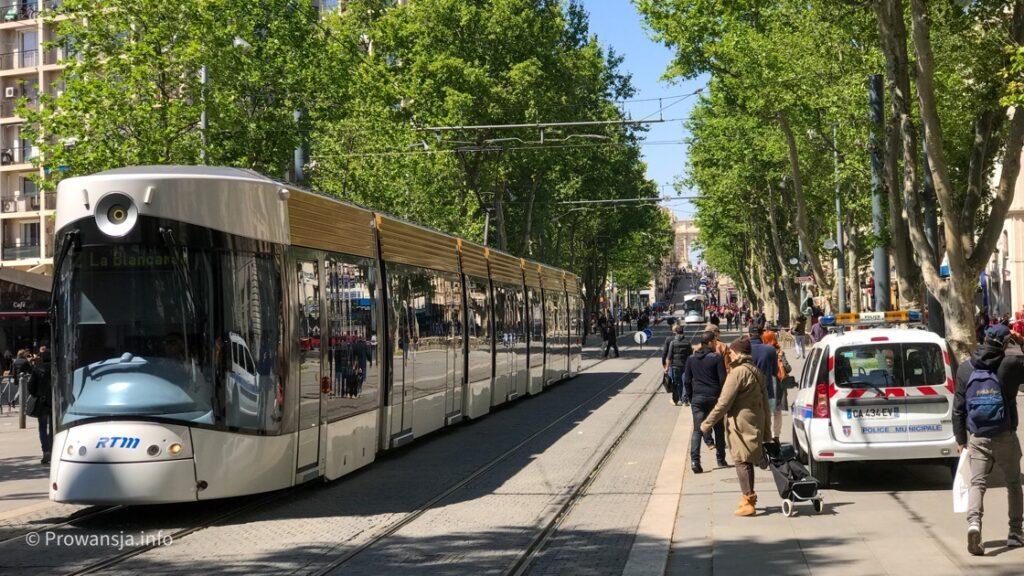 Tramwaj w Marsylii