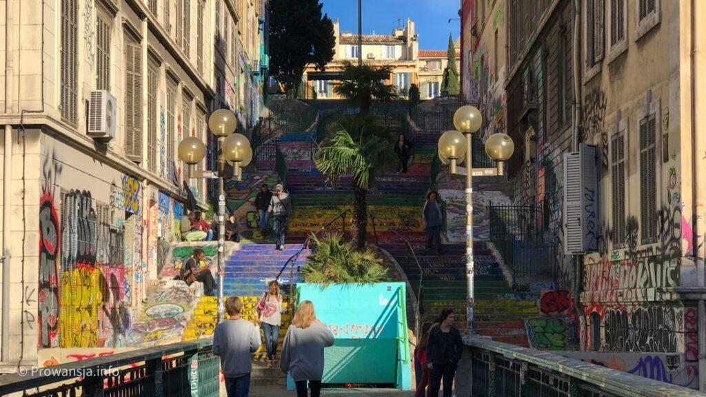 Escaliers du Cours Julien