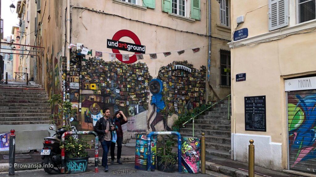 Graffiti na Starym Mieście