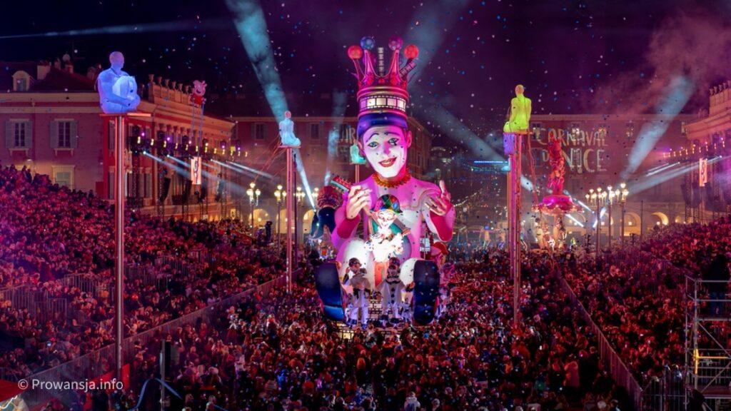 Parada Świateł, Karnawał w Nicei