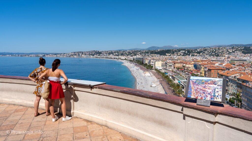 Widok na Zatokę Aniołów z wieży Bellanda