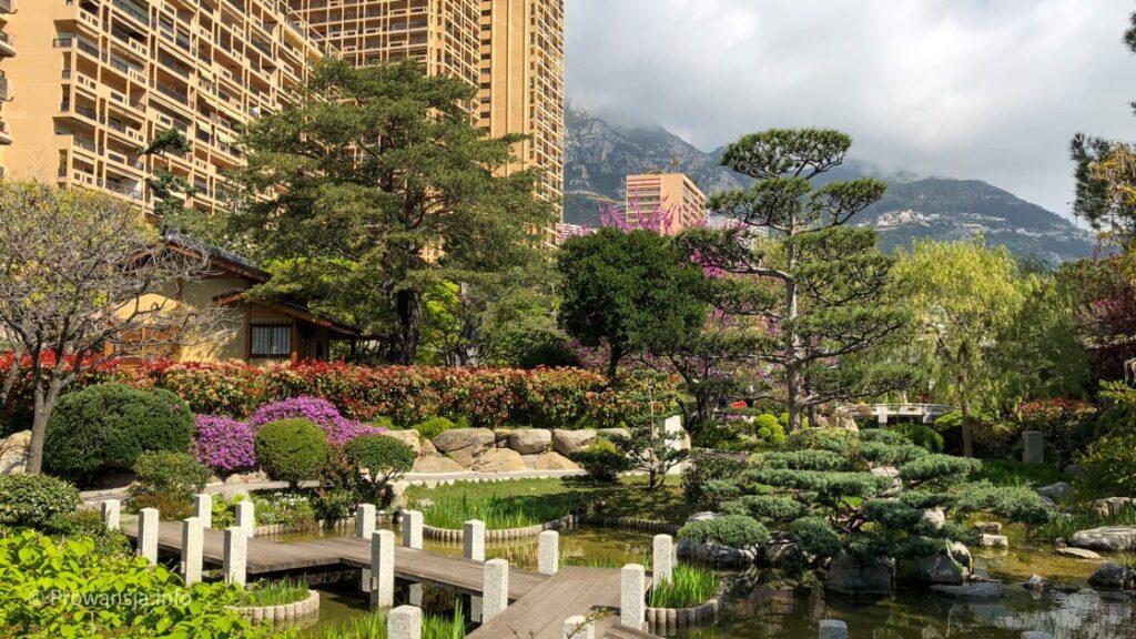 Ogród Japoński w Monako