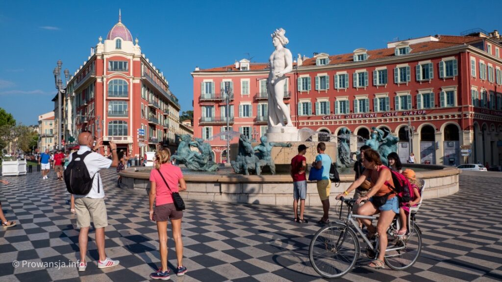 Plac Massena, Nicea