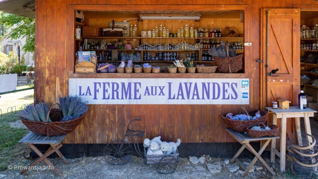 Lawendowa ferma w regionie Luberon, Prowansja