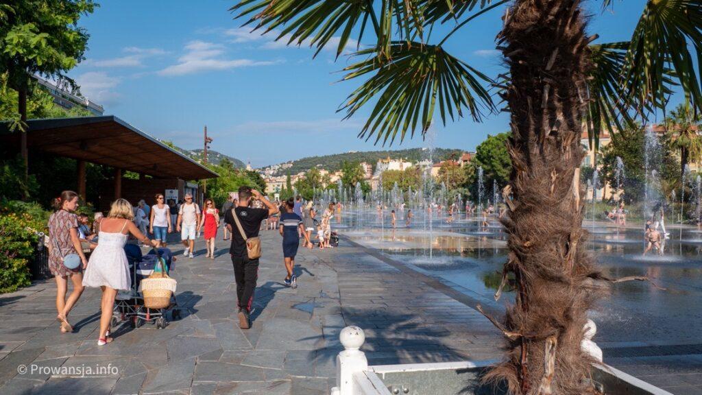 Promenada Paillon, Nicea