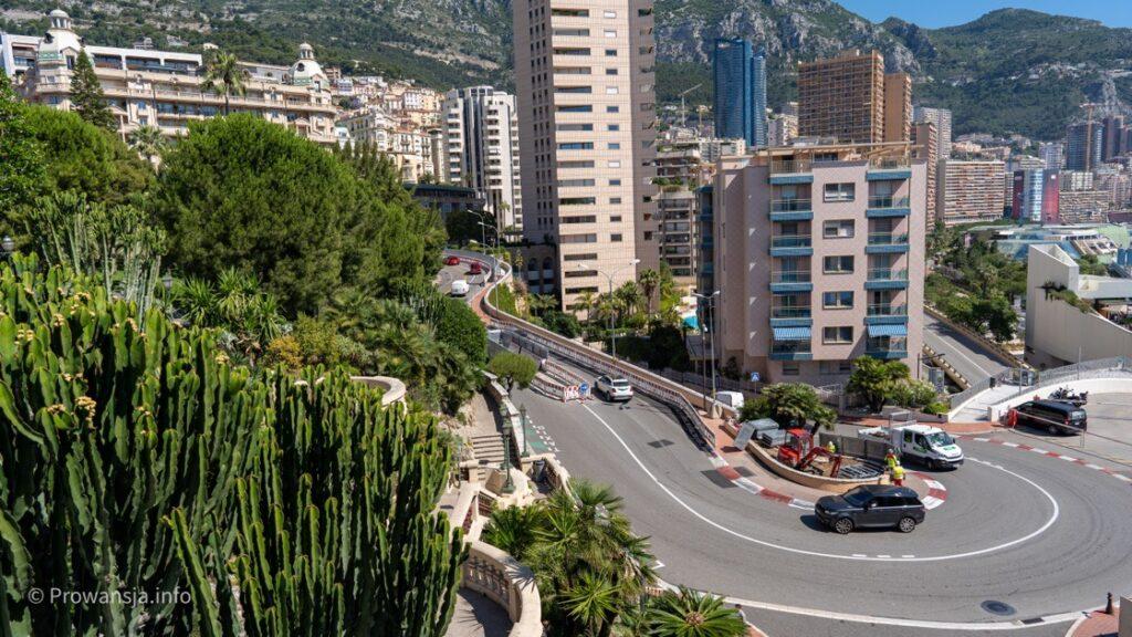 Najsłynniejszy zakręt Grand Prix F1 Monaco