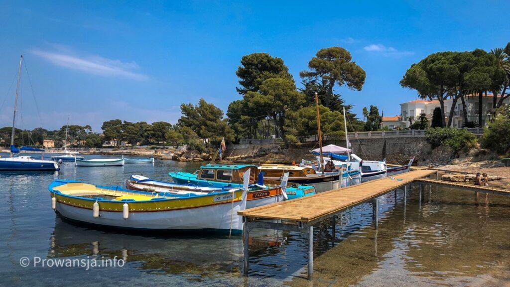 Port de l'Olivette na półwyspie Cap d'Antibes