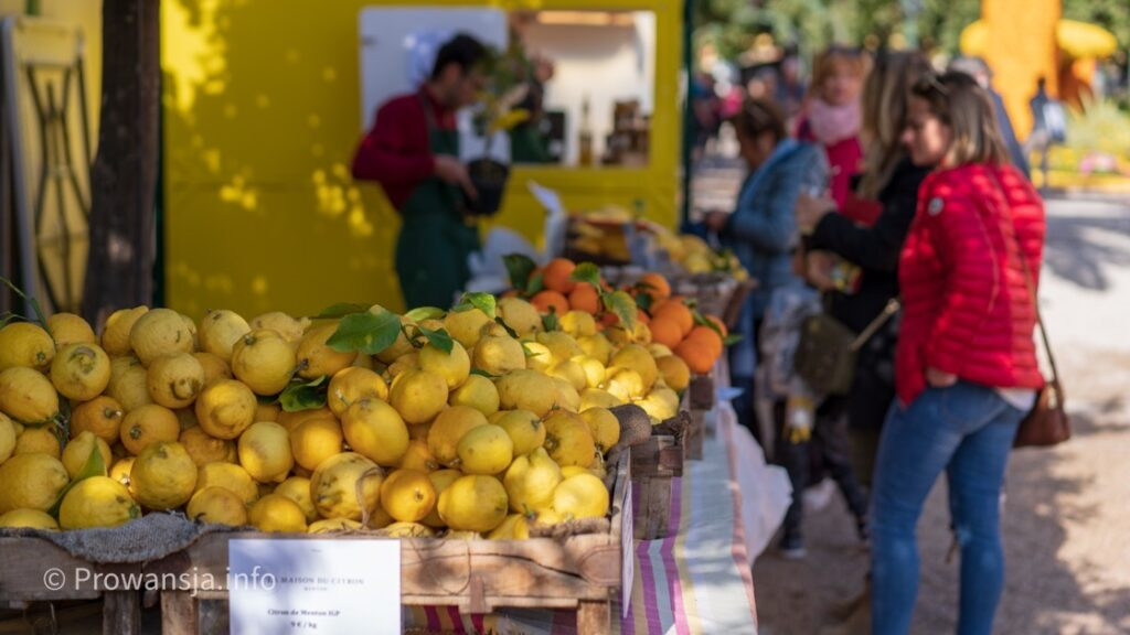 Lokalne cytryny z Menton