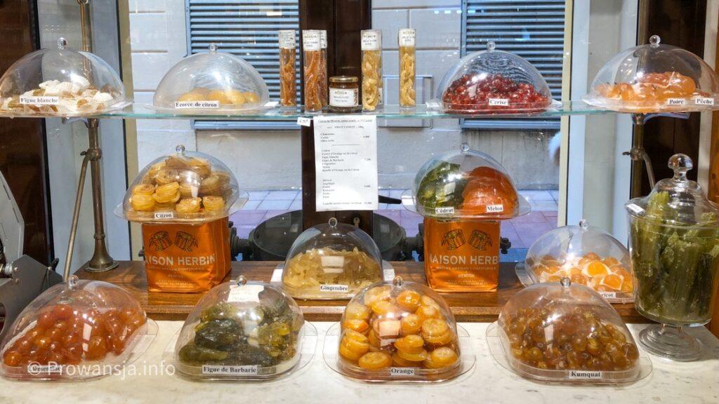 Sklep firmowy lokalnego producenta słodyczy i konfitur
