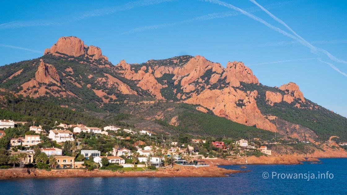 Wybrzeże między Cannes, a Saint-Tropez