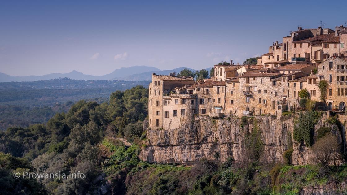 Średniowieczne miasteczka na Lazurowym Wybrzeżu